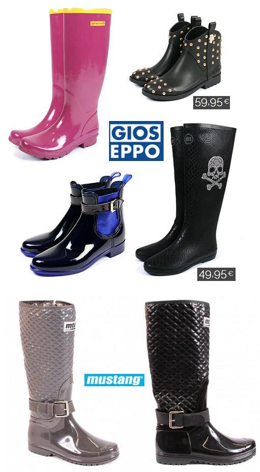 Nuevas botas de agua y katiuskas del otoño invierno 2013