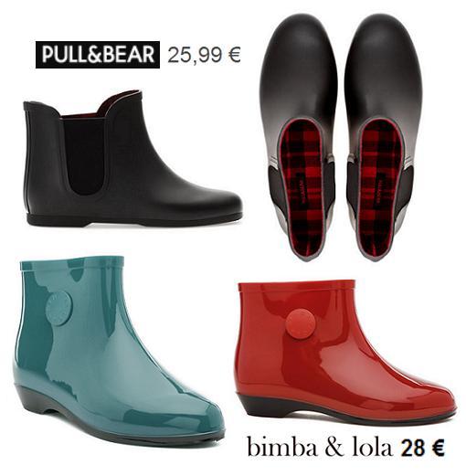 estilos de moda excepcional gama de estilos comprar bien Nuevas botas de agua y katiuskas del otoño invierno 2013 ...
