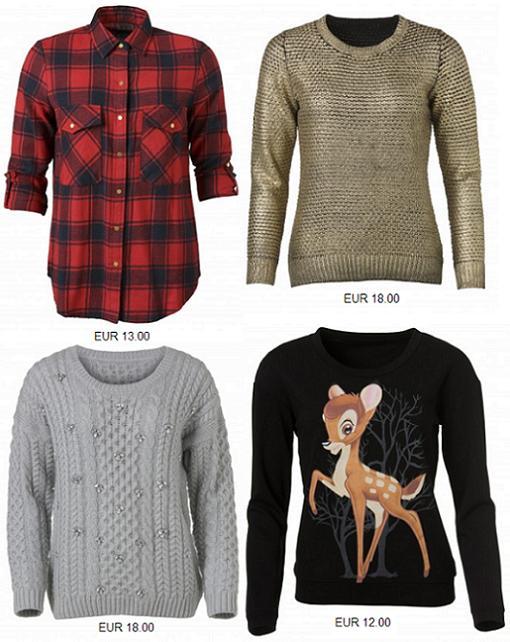 primark ropa otono invierno 2013 2014 partes de arriba