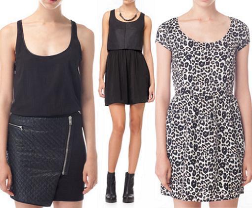 stradivarius ropa 2013 vestidos