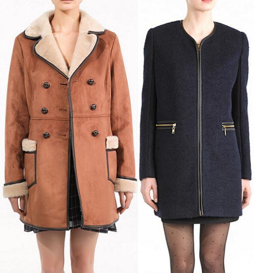 abrigos invierno 2014 de Sfera mujer