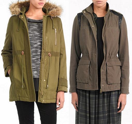 abrigos invierno 2014 de Sfera parkas