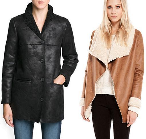 Abrigos mujer de la moda otoño invierno 2013 2014 doble faz