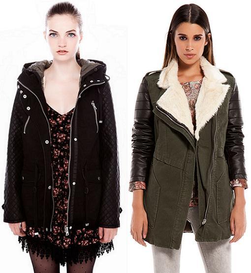 Abrigos mujer de la moda otoño invierno 2013 2014 parkas