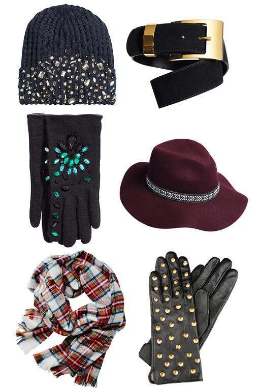 accesorios  H&M otoño invierno 2014