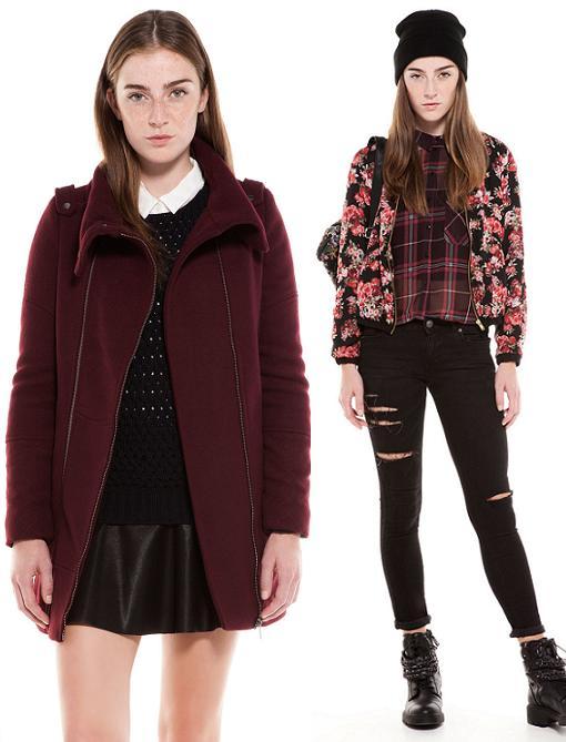 bershka ropa moda otoño invierno 2013 2014