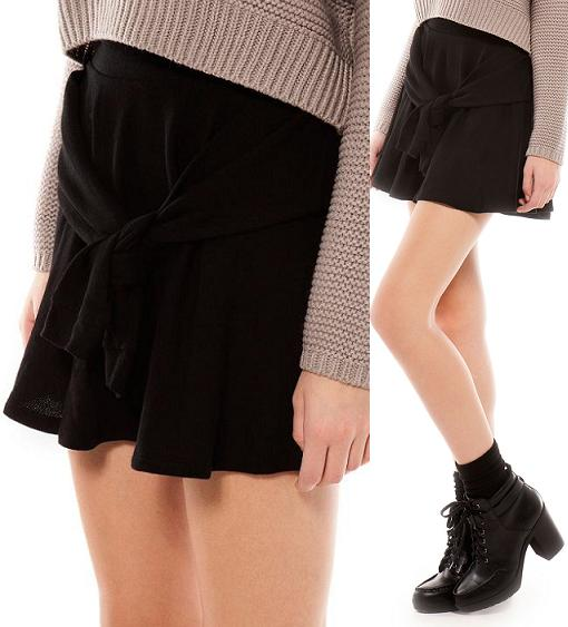 bershka ropa moda otoño invierno 2013 2014 falda