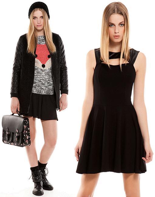 bershka ropa tendencias otoño invierno 2013 2014