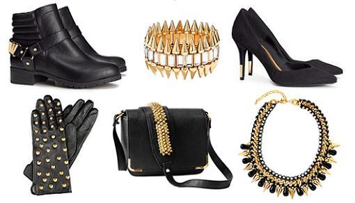 Bolsos, zapatos y accesorios de H&M otoño invierno 2014