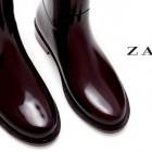 Botas de agua de Zara 2013/2014: ¡Estilo bajo la lluvia!