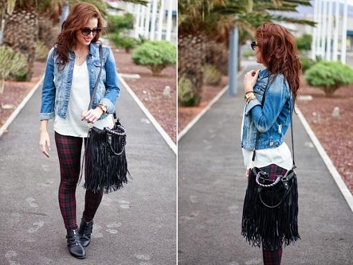 Cómo vestirse con leggins: looks para el otoño 2013 - RobaTendencias