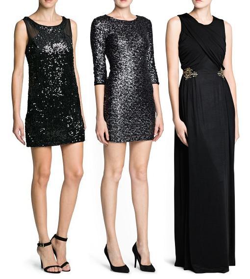 vestidos de fiesta y nochevieja 2014 mango