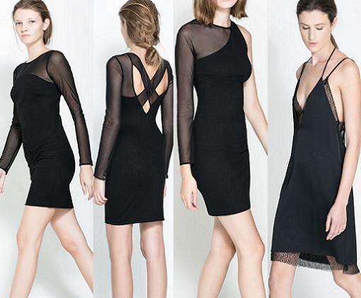vestidos de fiesta y nochevieja 2014 zara