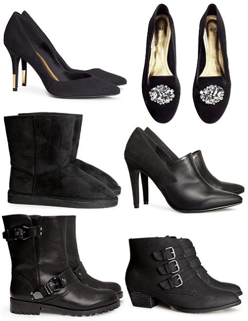 Zapatos H&M otoño invierno 2014