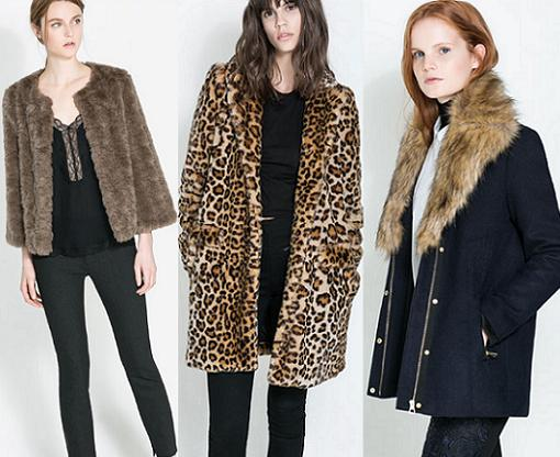 abrigos de piel zara