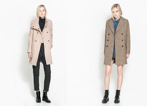 diseño atemporal dec3c fb3df Los mejores abrigos de Zara TRF para el invierno 2013 2014 ...