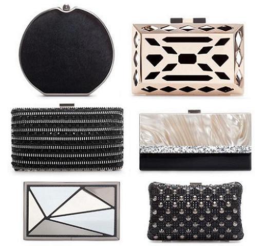 fd4d28986 Nuevos clutch y bolsos de fiesta de Zara 2013/2014 - RobaTendencias