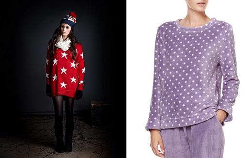 Estampado de estrellas a la moda