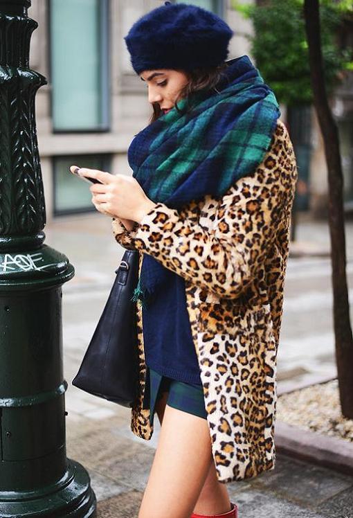 Looks con los abrigos low cost del invierno 2014 pelo