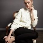 nueva ropa de blanco del invierno 2013