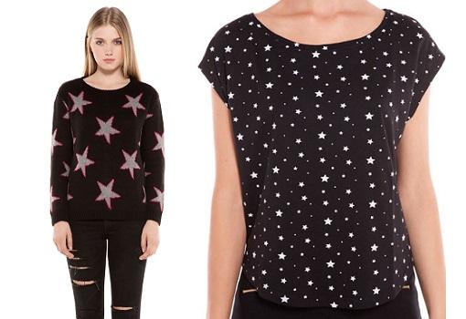 ropa estrellas bershka