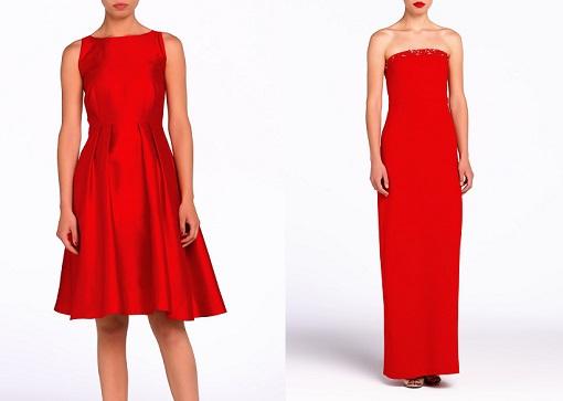 Vestidos rojos de Tintoretto