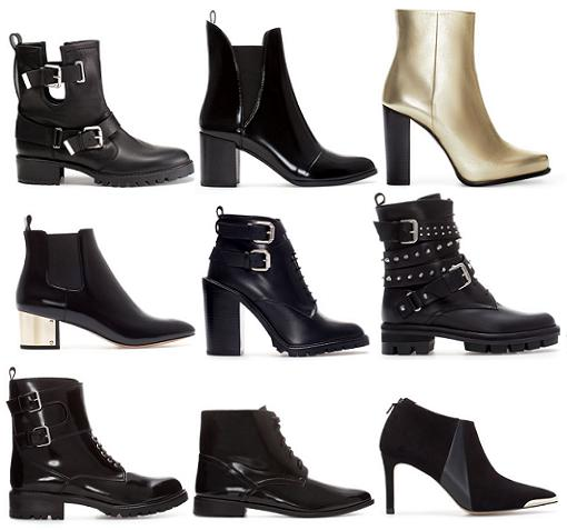 zapatos zara 2013 2014 botines