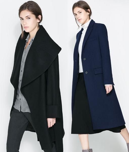 abrigos zara 2014