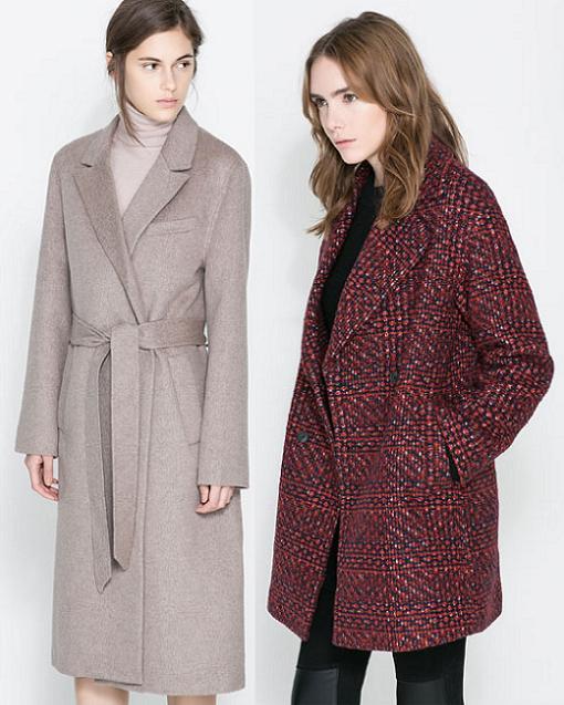 abrigos zara moda