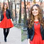 Vestido rojo de Navidad