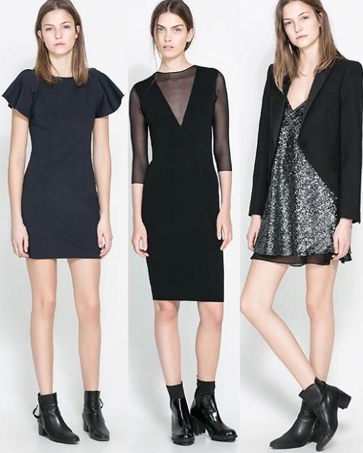 Vestidos de fiesta y fin de año de Zara 2013/2014