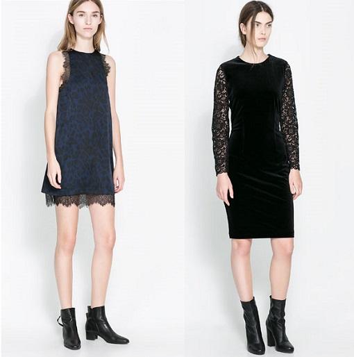 Vestidos Zara de encaje