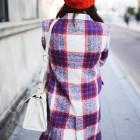Abrigos muy mujer de piel, de cuadros y otras tendencias en Zara y compañía