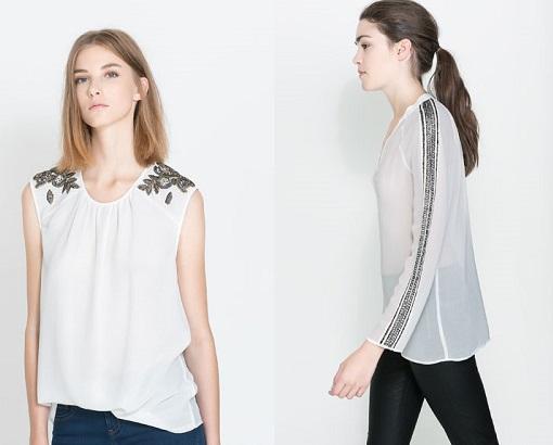 Camisas Zara TRF
