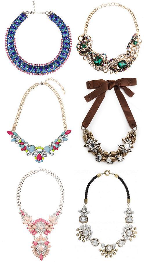 collares de moda 2014