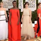 Globos de Oro 2014: La alfombra roja con los mejores vestidos y los looks más comentados