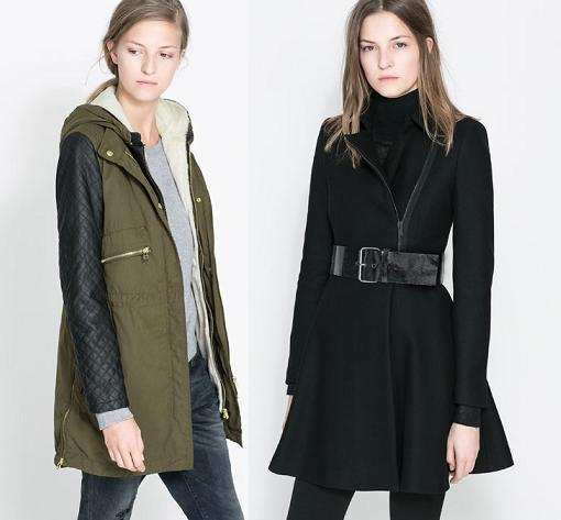 nueva coleccion zara mujer 2014 abrigos