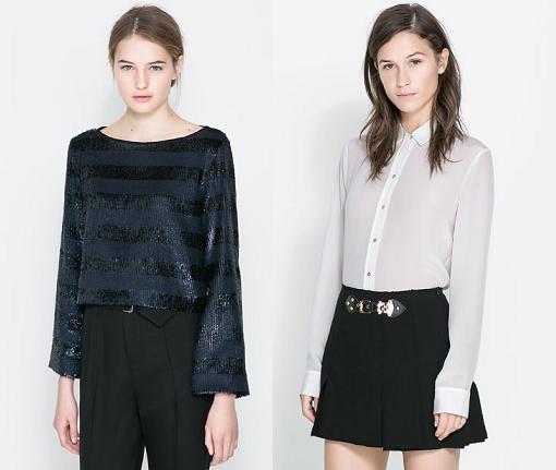 nueva coleccion zara mujer 2014 camisas