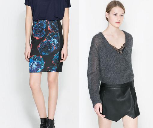 nueva coleccion zara mujer 2014 faldas