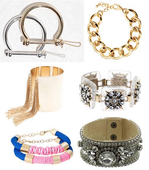 pulseras de moda 2014