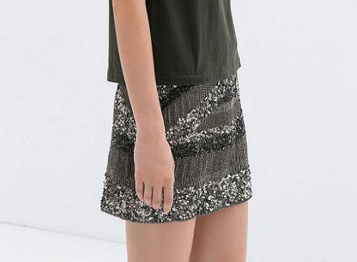 4ed046555 Las faldas de moda 2014 son de Zara - RobaTendencias