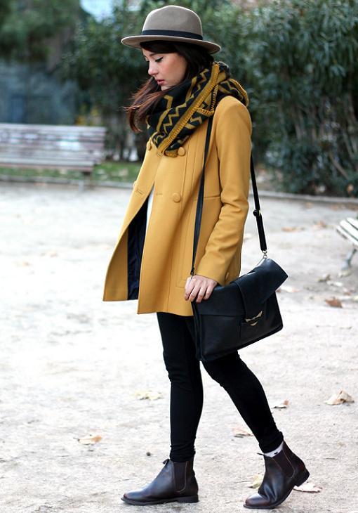 moda invierno 2014 looks abrigos mostlymelina