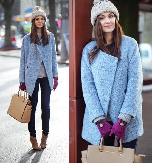 moda invierno 2014 street style abrigos fashionagony