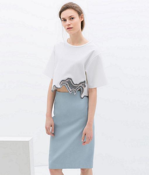 nueva ropa de la coleccion zara woman primavera verano 2014