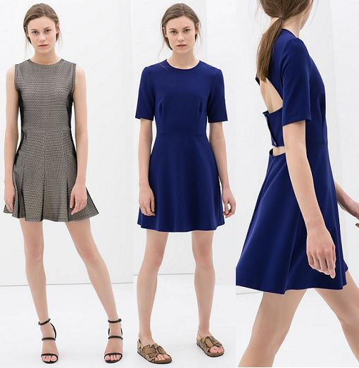 ropa zara woman primavera verano 2014 vestidos
