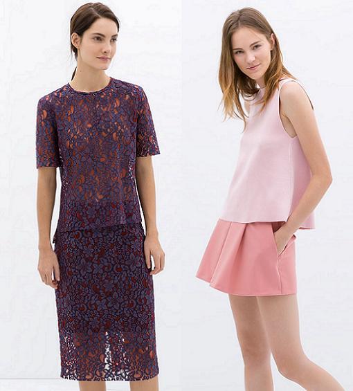 ropa zara woman primavera verano 2014
