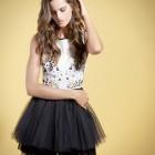 vestidos de fiesta de las coleccion primavera verano 2014 low cost blanco zara mango
