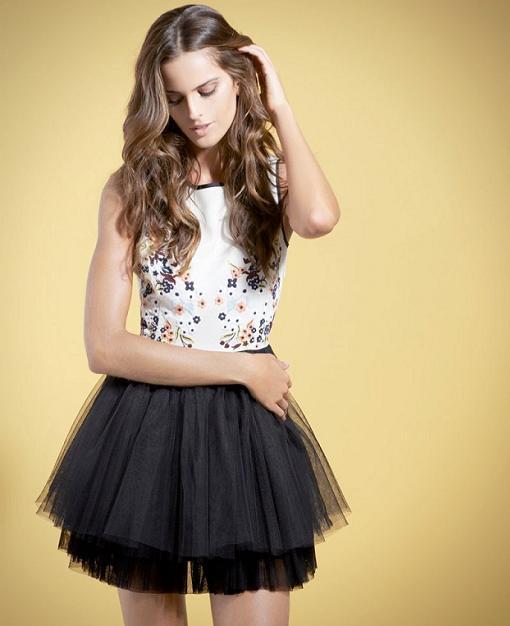vestidos de fiesta de las colecciones primavera verano 2014 low cost blanco zara mango