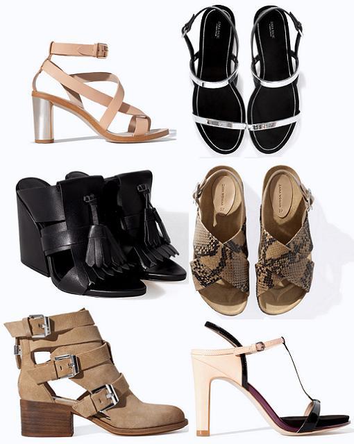 zapatos zara woman primavera verano 2014
