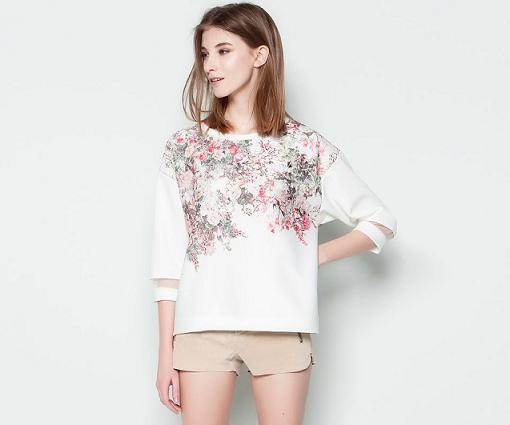 Camisetas y sudaderas de Pull and Bear primavera verano 2014